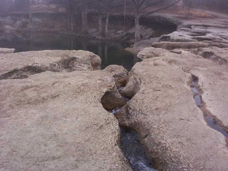 Austin TX Mckinney Park   upper mckinney falls 2
