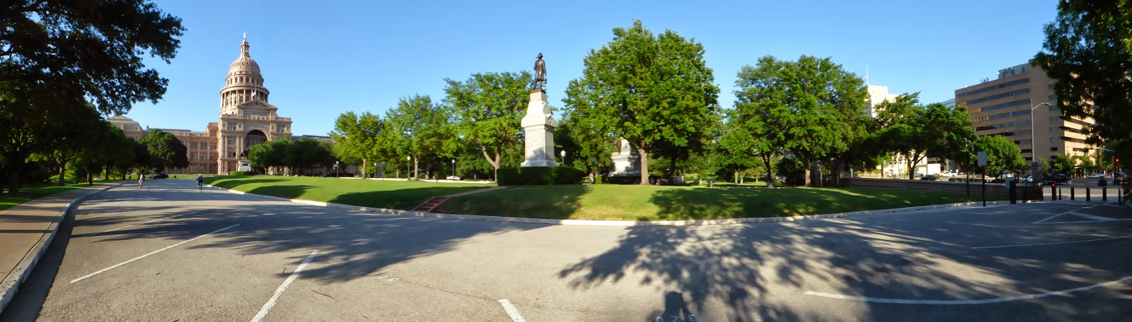 panoramic of the state capitol building