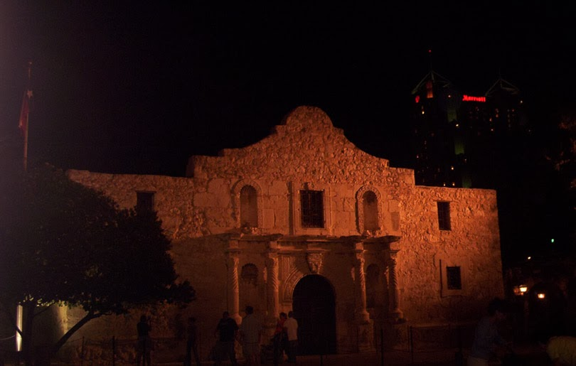 the alamo and the marriott