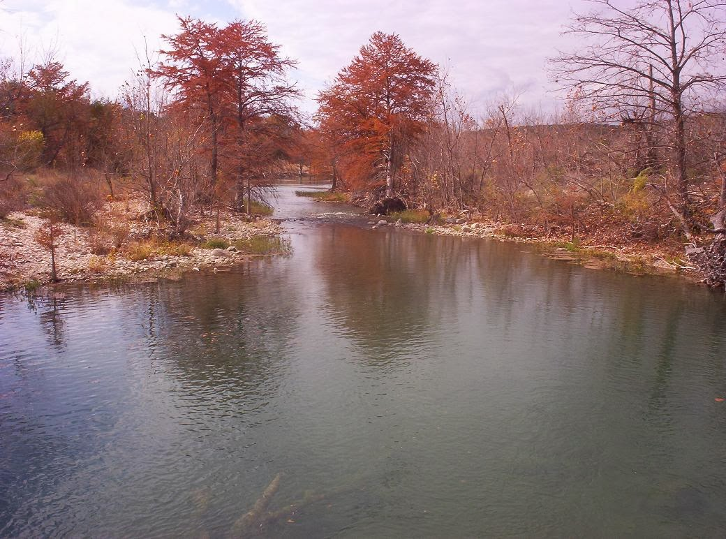 medina river in late november 2