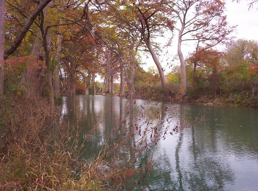 medina river runs through castroville tx