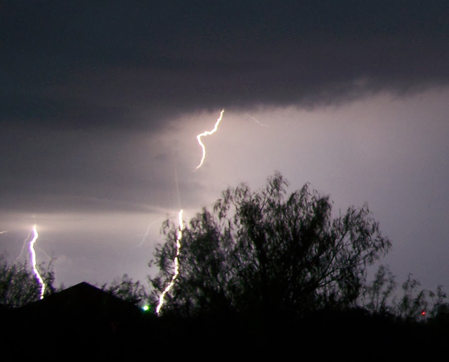 lightning flashing across hondo dunlay in medina county