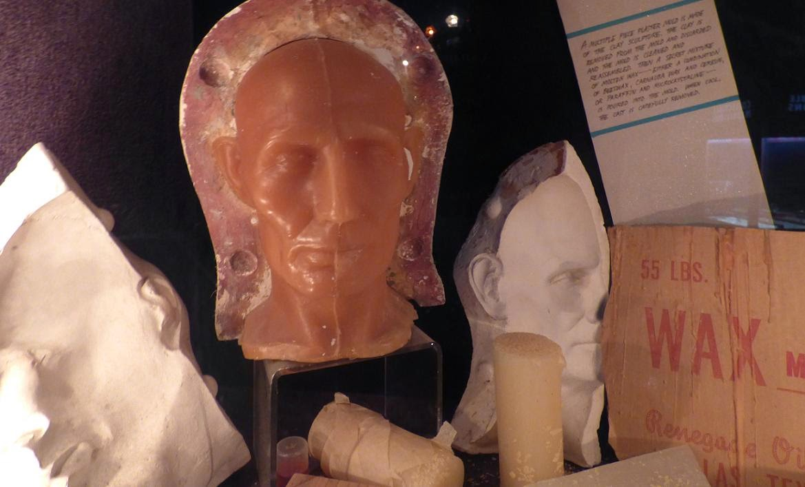 building a wax sculpture part 2