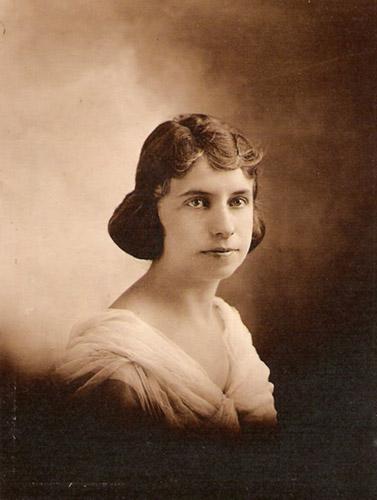 Savana Mae Turner circa 1920