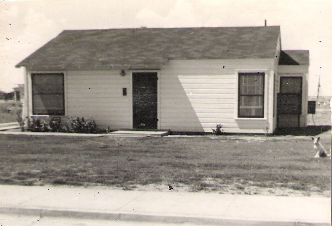 Jesse D and Doris K Graves Dobson moved in 1949 Midland Texas 311 Cottonwood Avenue
