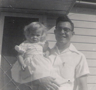 Clifton and Mary Lynn Dobson 1955 a