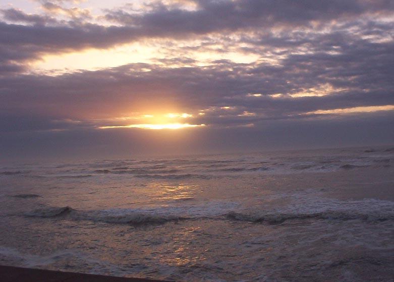 galveston island texas   sun peeking through clouds2