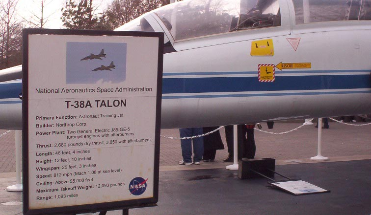 houston texas   NASA   jet information