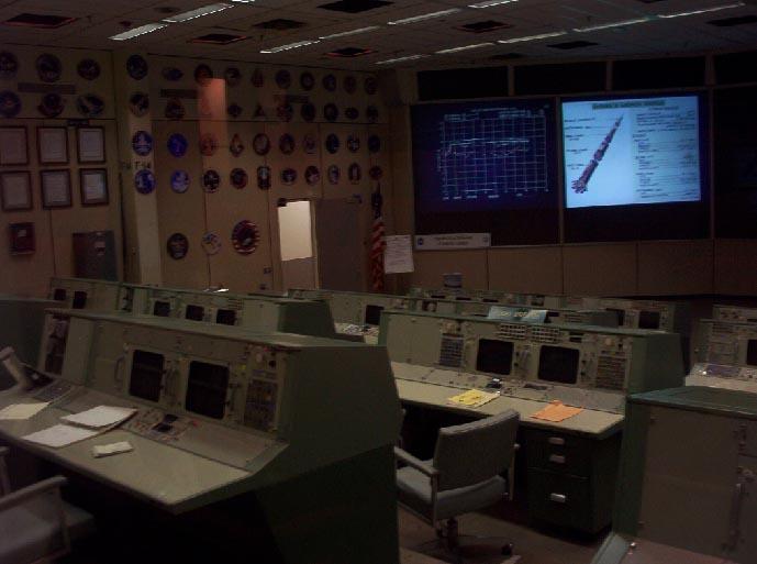 houston texas   NASA apollo era mission control