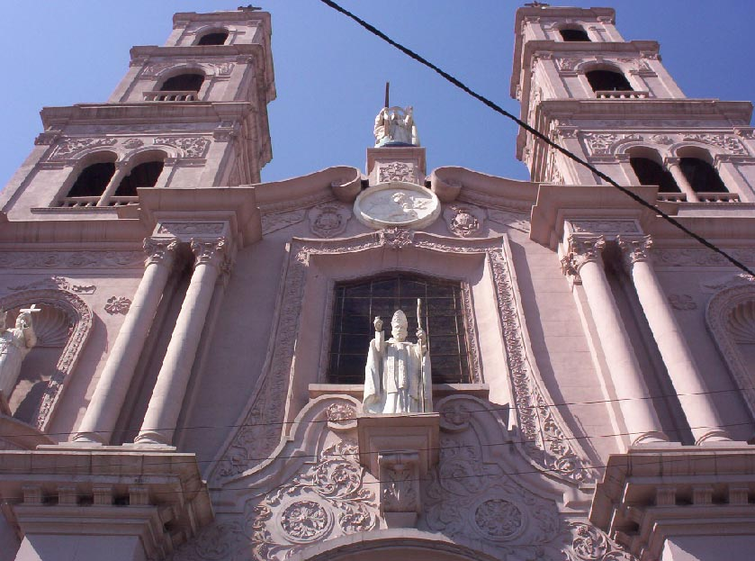 monterrey mexico   church facade