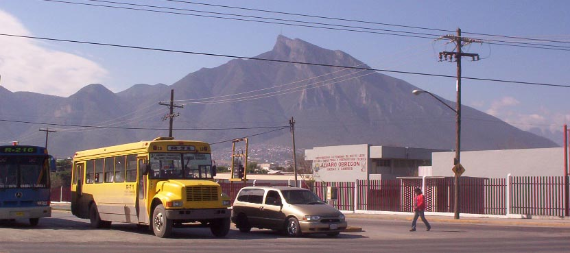 monterrey mexico   mountain