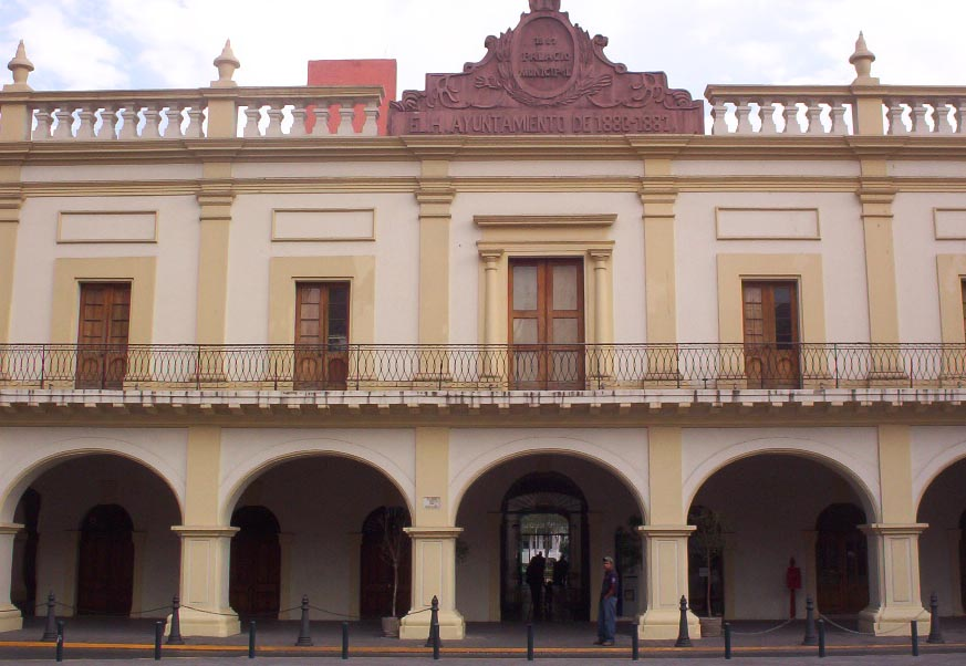 monterrey mexico   palacio municipal