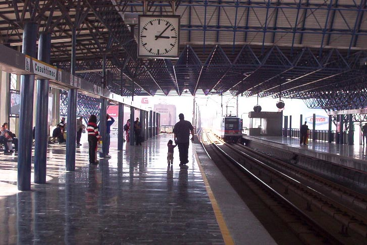 monterrey mexico   train station