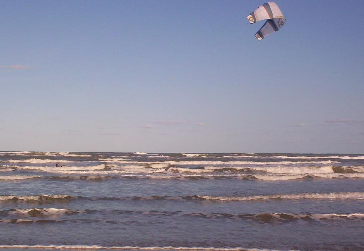 south padre island texas   kite surfing