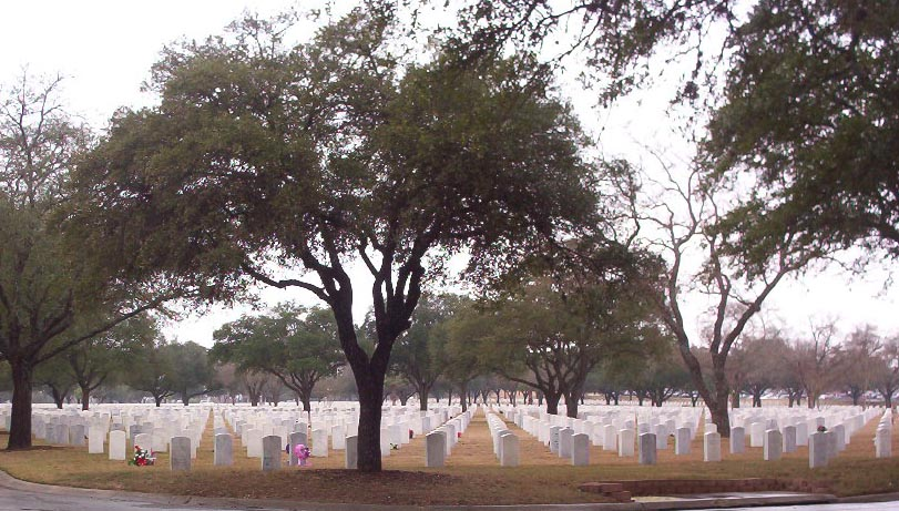 San Antonio Texas   national cemetery
