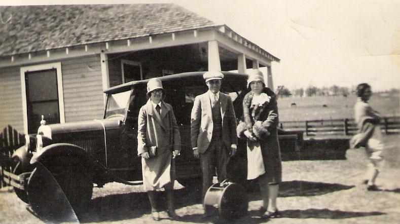 Jesse Daniel and Doris Kathleen Graves Dobson circa March 11 1928 Winona Texas