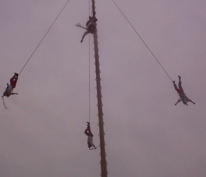 El Tajin veracruz mexico   Los Voladores