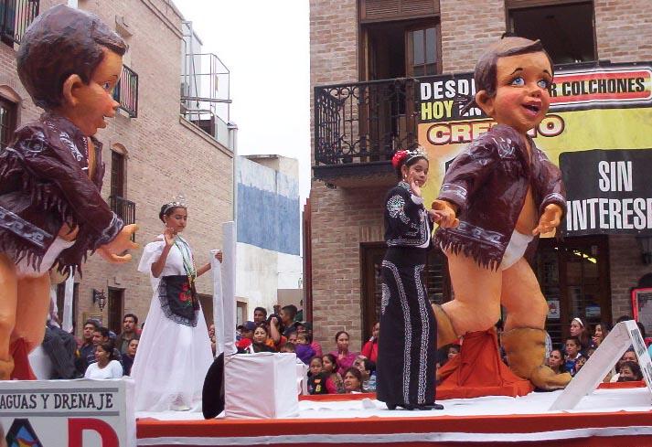 Matamoros Tamaulipas Mexico   Charros Parade   Babies In Diapers