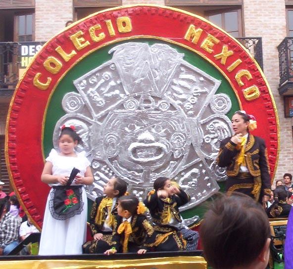 Matamoros Tamaulipas Mexico   Charros Parade   Colegio Mexico