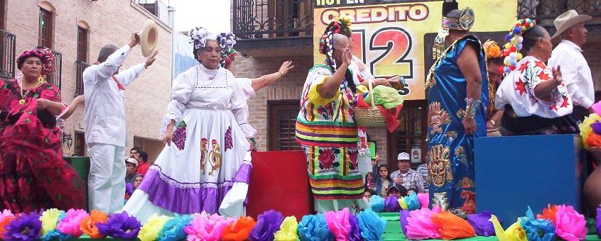 Matamoros Tamaulipas Mexico   Charros Parade   Women Waving