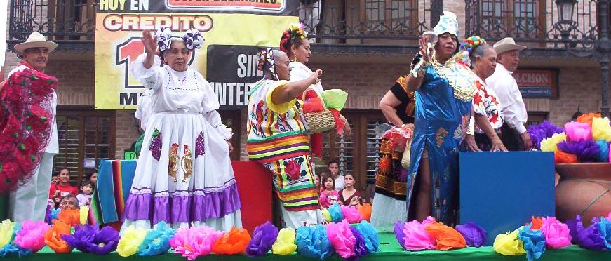 Matamoros Tamaulipas Mexico   Charros Parade   Women Waving 2