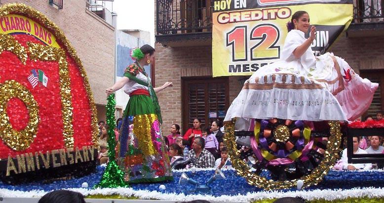 Matamoros Tamaulipas Mexico   Charros Parade 67 Anniversary