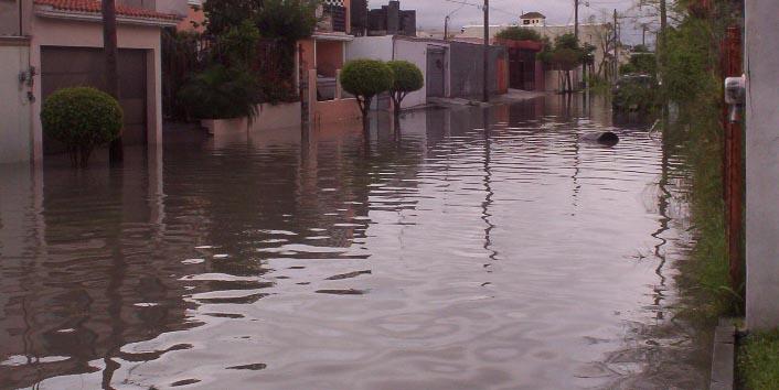 Matamoros Tamaulipas Mexico   Flooded Streets 2