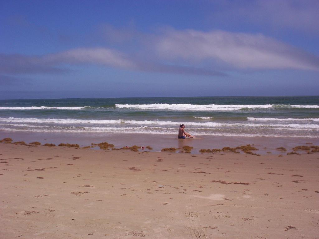 South Padre Island Texas   Mari In Water