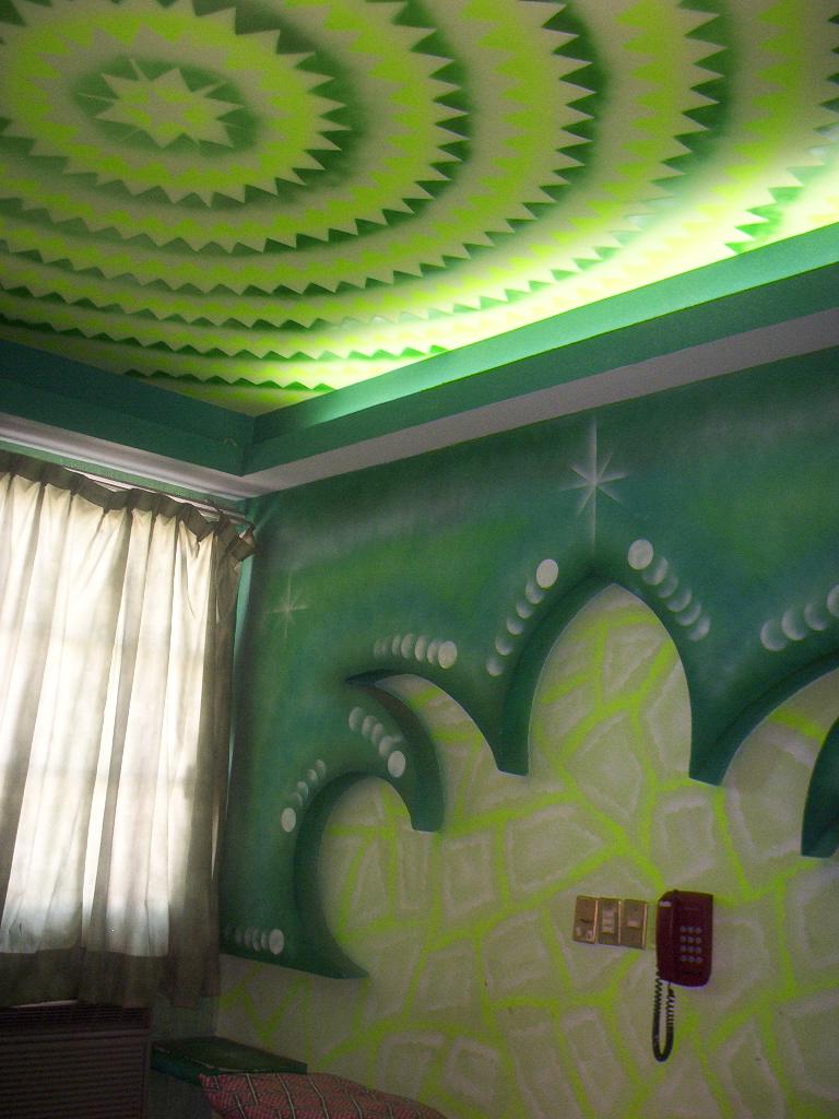 Veracruz Mexico   Green Hotel Room