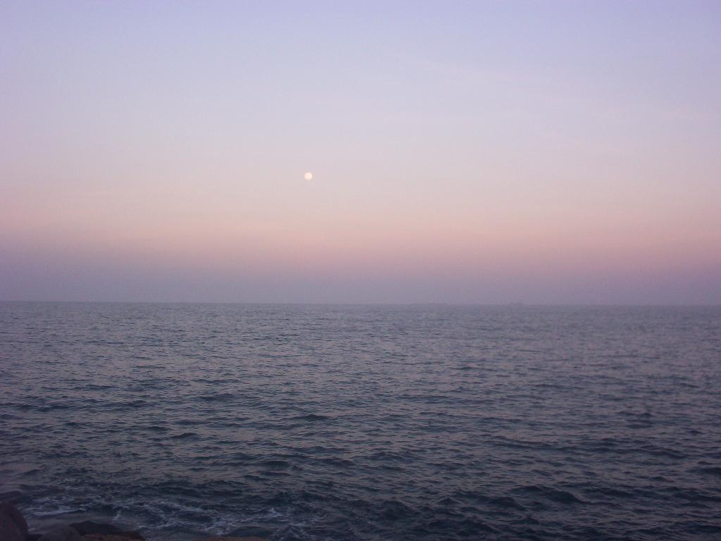 Veracruz Mexico   Moon