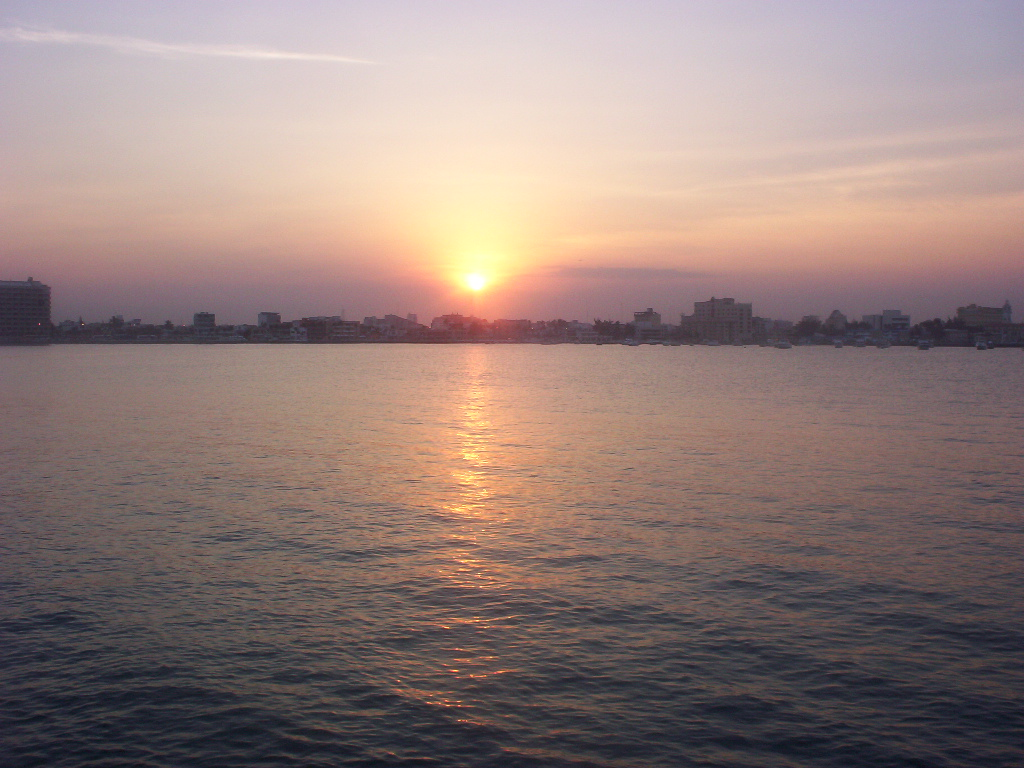 Veracruz Mexico   Sun Is Going