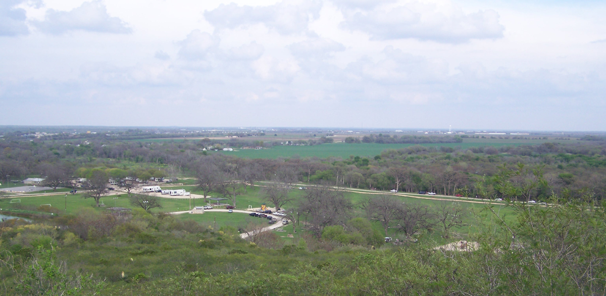 castroville regional park from hilltop
