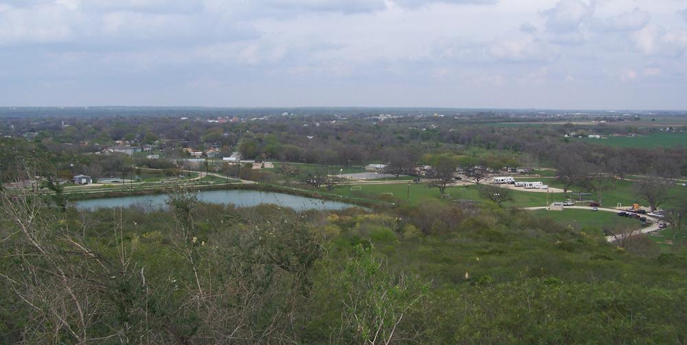 castroville texas regional park hilltop view