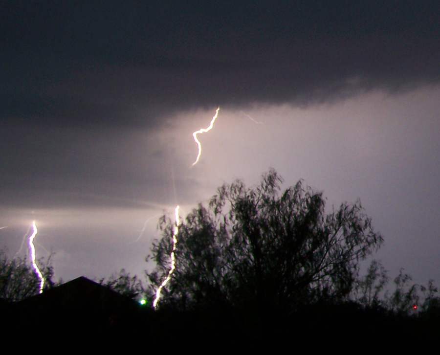 lightning flashing across hondo dunlay in medina county