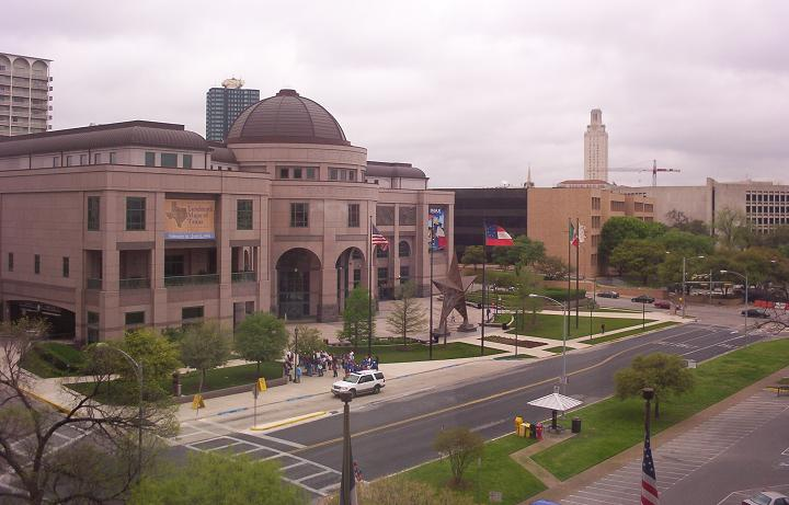 state history museum from texas education agency building