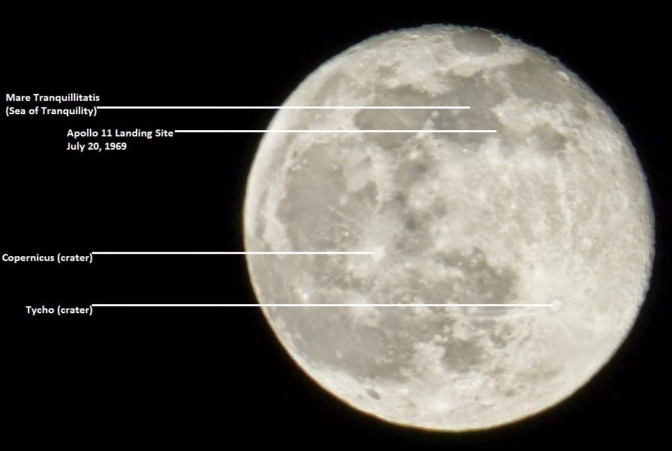 moon landmarks
