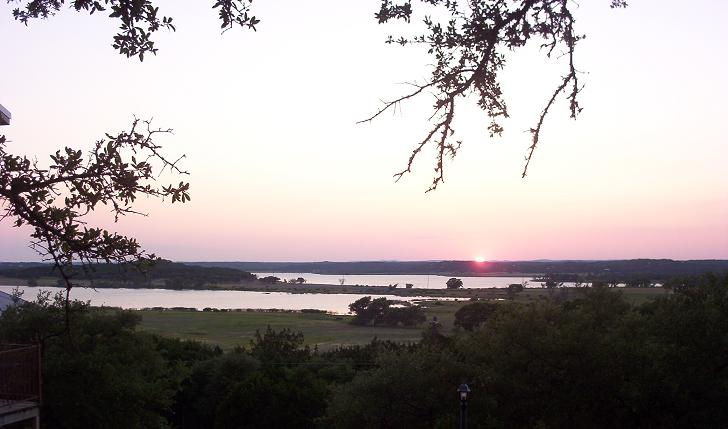 canyon lake sunset 3