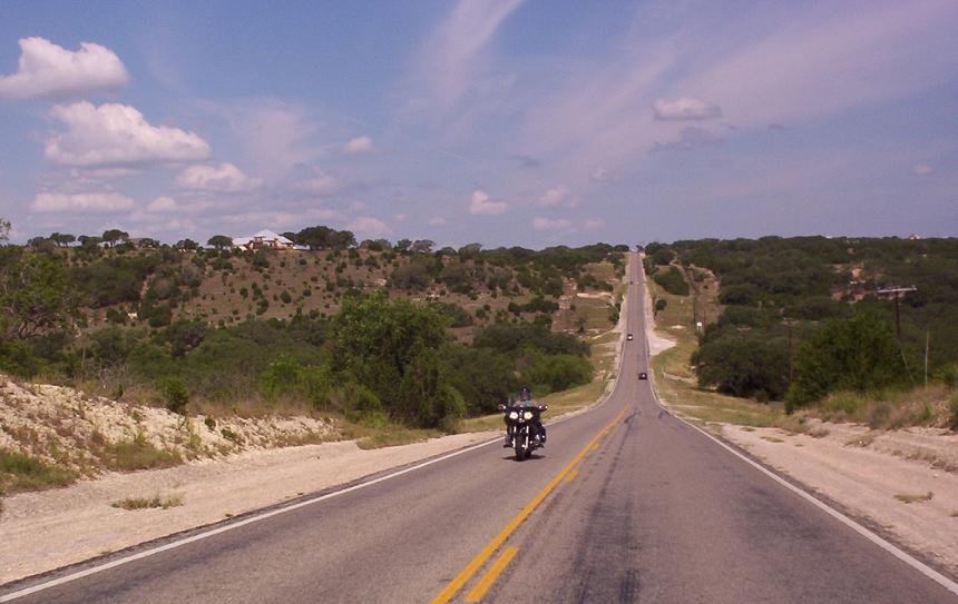 road to canyon lake