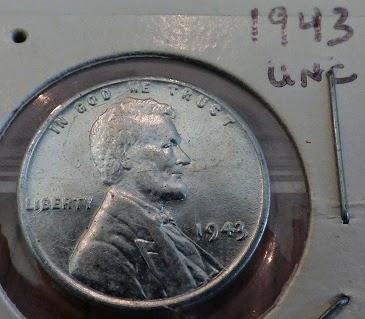 1943uncirculated steel penny