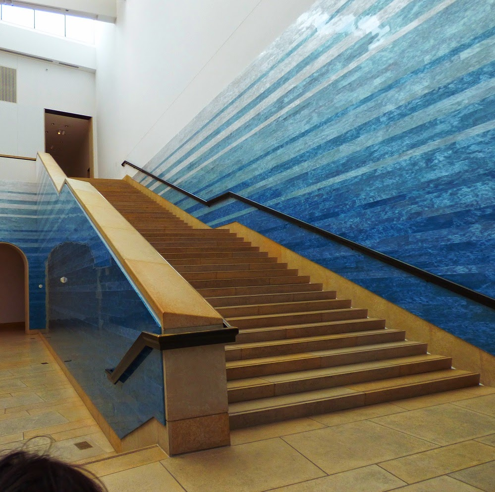 stairs in art museum