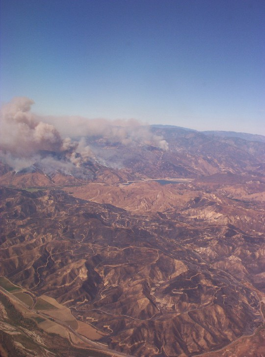 Los Angeles California   wildfire 2