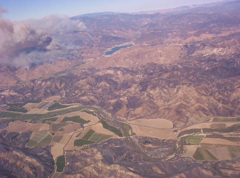 Los Angeles California   wildfire 3