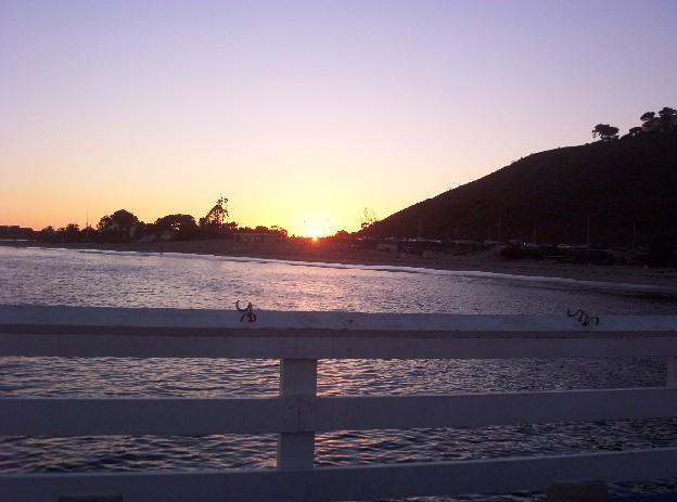 Malibu California   sunset
