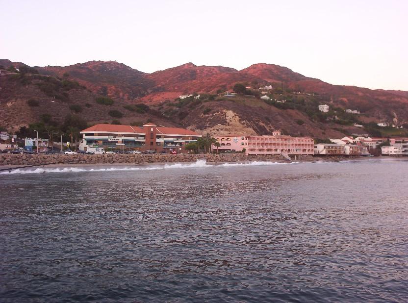Malibu California   view from the pier