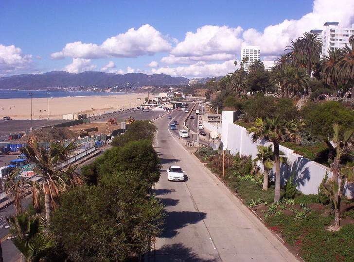 Santa Monica California   Pacific Coast Highway
