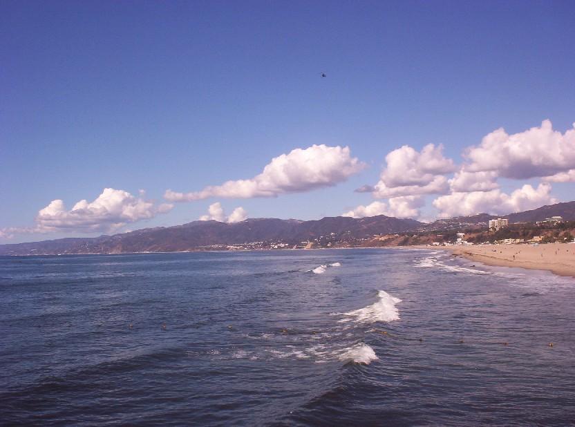 Santa Monica California   beach a