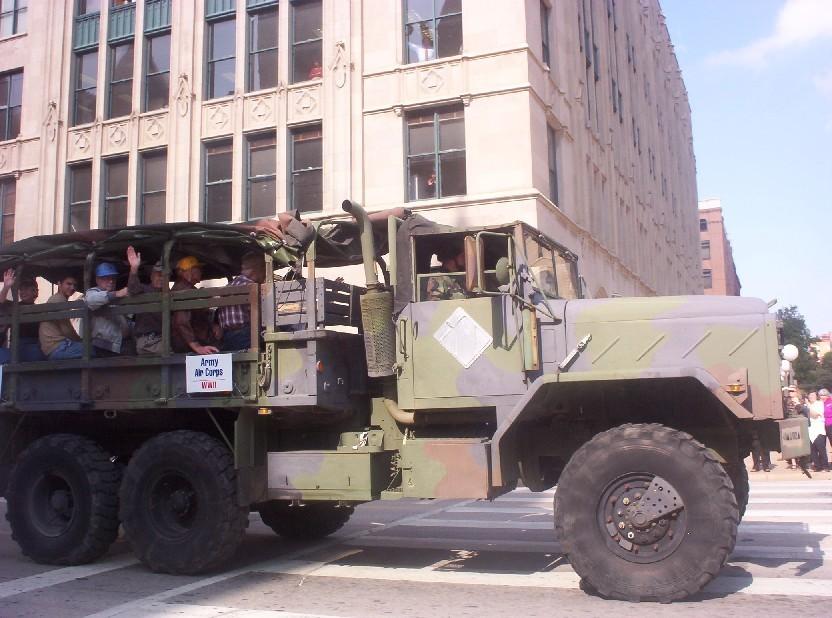 Dallas texas   Veteran parade
