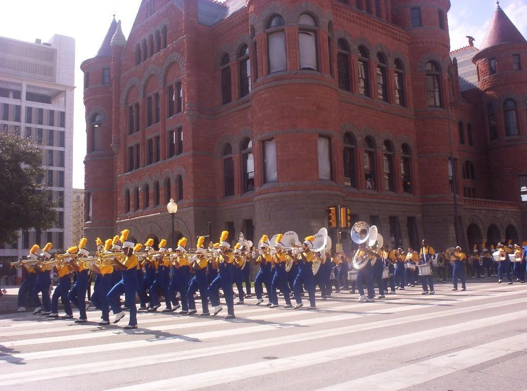 Dallas texas   marching band