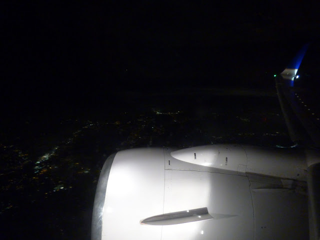 jet engine wing lights