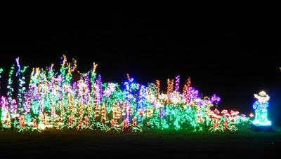 christmas lights farmer